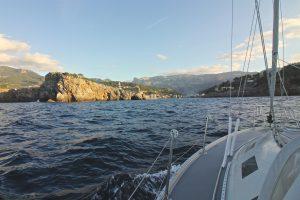 Ankomst til Sóller (Mallorca)